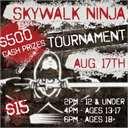 Ninja Warrior Tournament at SkyWalk
