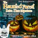 Becker Farms Haunted Forest Drive Thru Experience