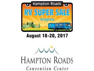 Summer rv show and sale hampton roads convention center for Craft shows in hampton roads