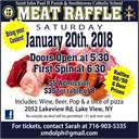 Winter Meat Raffle