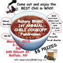 1st Annual Chili CookOff - RotaryBNMC