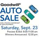 Goodwill Auto Sale