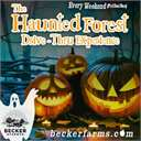 Becker Farms Haunted Forest Drive In Experience