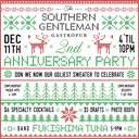The Southern Gentleman's 2nd Anniversary Party